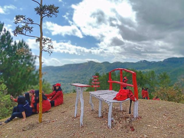 Wisata bukit Tete Litak Sangalla'