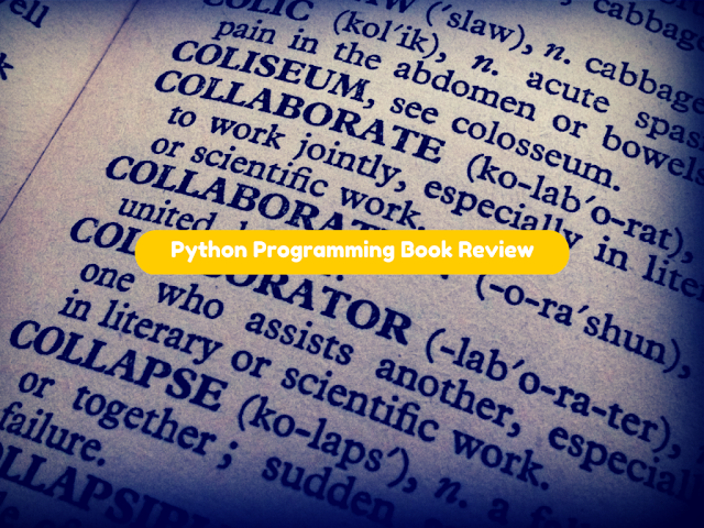 Python Programming Exclusive Book Review Fromdev