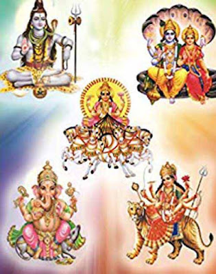 Protection of Ganesha - Vishnu - Shiva - Durga - Surya