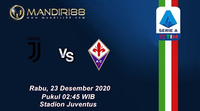 Prediksi Juventus Vs Fiorentina, Rabu 23 Desember 2020 Pukul 02.45 WIB @ RCTI