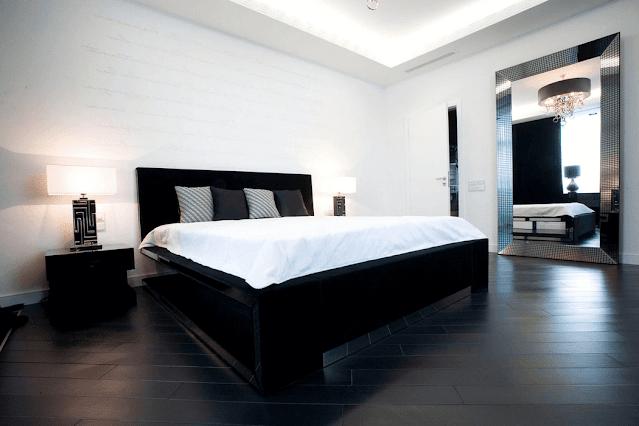 Warna Dinding untuk Lantai Gelap