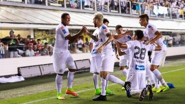 Chuva de gols! Santos abre o Paulistão 2017 com goleada
