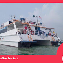 Harga Tiket KM Blue Sea Jet 1 Kapal Baru Yang Baru Beroperasi Bawean Gresik