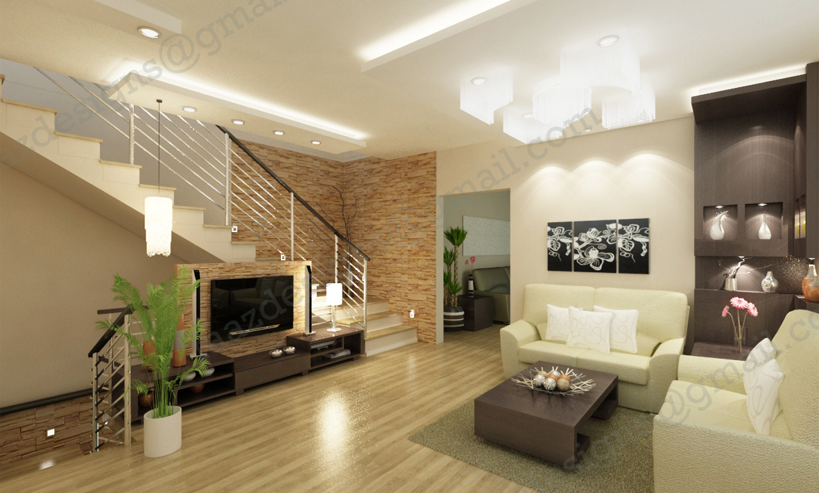 Faz designs modern design for Hall design for medium family