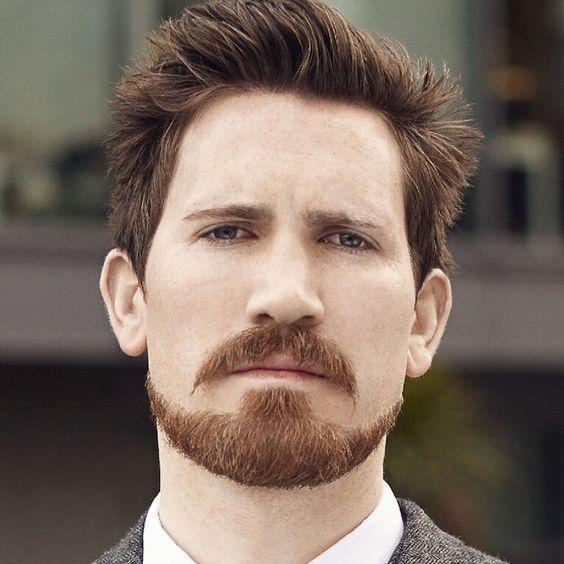 Barba Masculina Bigode Estilos