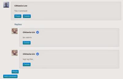 Cara Modifikasi Tampilan Desain Threaded Comment di Blogger