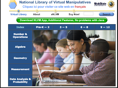 Here Is A Great Resource of Virtual Manipulatives for Math Teachers