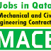 Jobs in MACE-Mechanical and Civil Engineering Contractors - Qatar