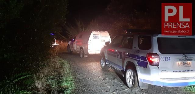PDI investiga hallazgo de cadáver en la isla Quihua