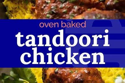 Oven #Baked #Tandoori #Chicken - Food Eli 2