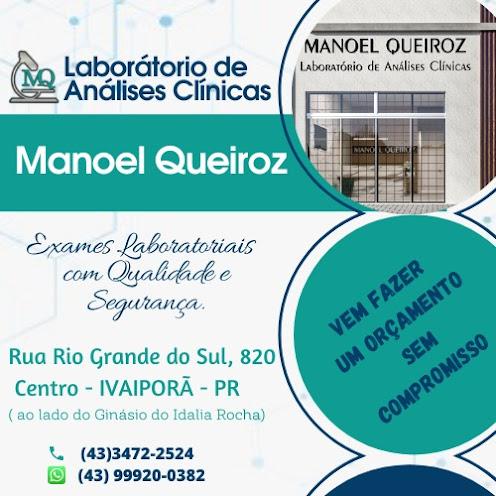 IVAIPORÃ -  Laboratório de Análises Clínicas - Manoel Queiroz