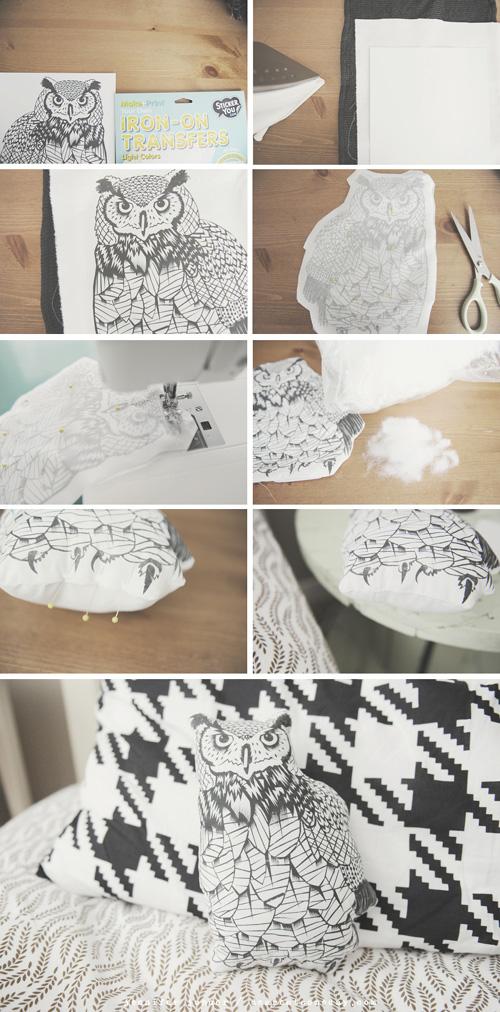My Owl Barn: DIY: Owl Pillow