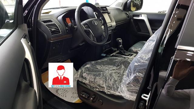 Giá xe Toyota Land Cruiser 2018 ảnh 13