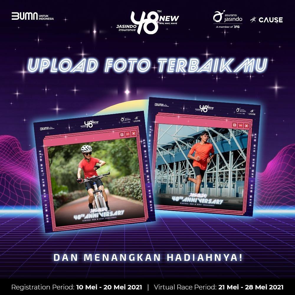 Contest 🖼� JASINDO Virtual Run & Ride • 2021