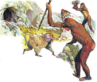 storia e preistoria, dalle scimmie all'uomo
