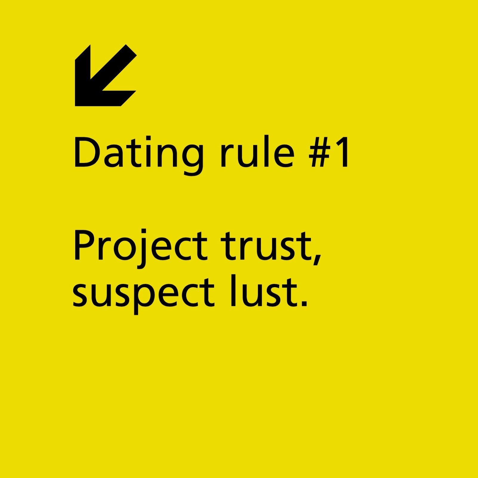 dating wednesday rule