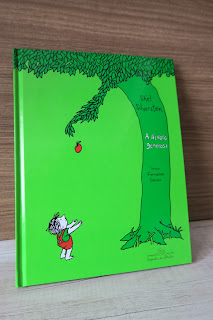Livro a árvore generosa de Shel Silverstein