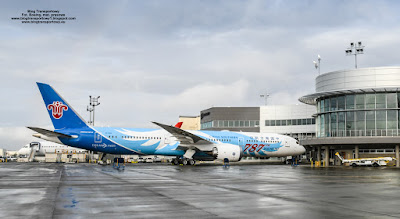 Boeing 787-9 Dreamliner, B-1168, China Southern Airlines