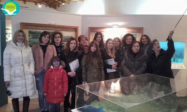 Επίσκεψη του ΙΕΚ Ηγουμενίτσας στο κέντρο πληροφόρησης Αχέροντα στην Αμμουδιά