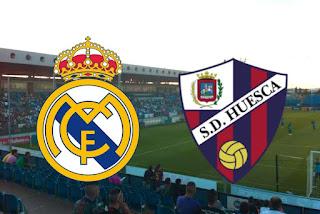 مباراة ريال مدريد وهويسكا الجولة الثامنة من الدوري الإسباني 2020