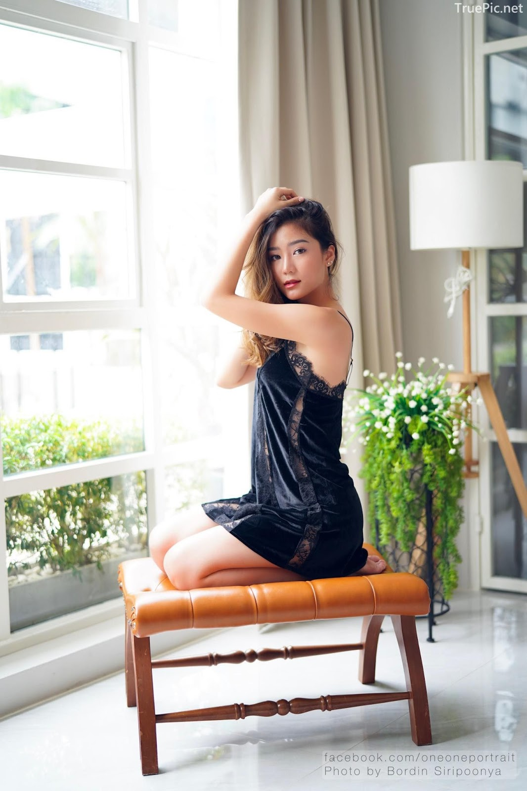 Thailand hot model Pattaravadee Boonmeesup vs Photo album Black Magic Sleepwear - Picture 1