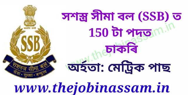 SSB Constable Recruitment 2019