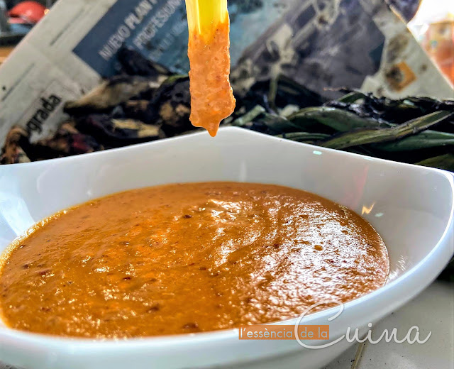 Salsa-Calçots, Thermomix, cuina-casolana, l'essència-de-la-cuina,