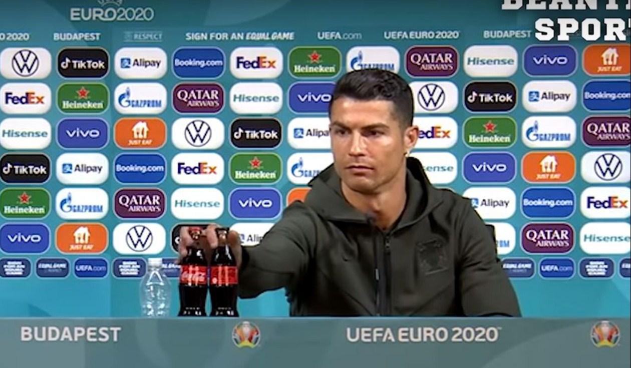 Cristiano Ronaldo dan Coca-Cola