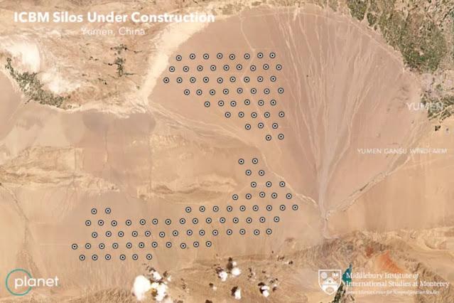 Dunia Geger Satelit Temukan Pabrik Rudal Balistik Nuklir Rahasia China