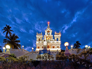 famous churches in old goa