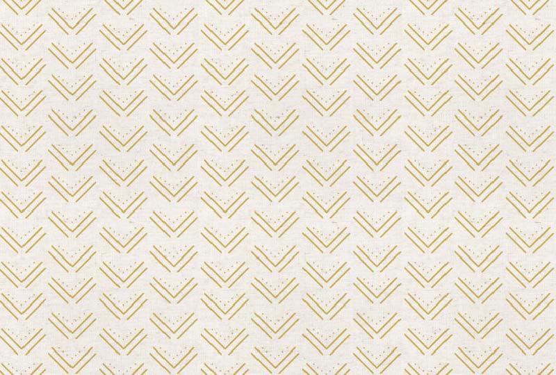 Yellow Arrow Tribal Canvas
