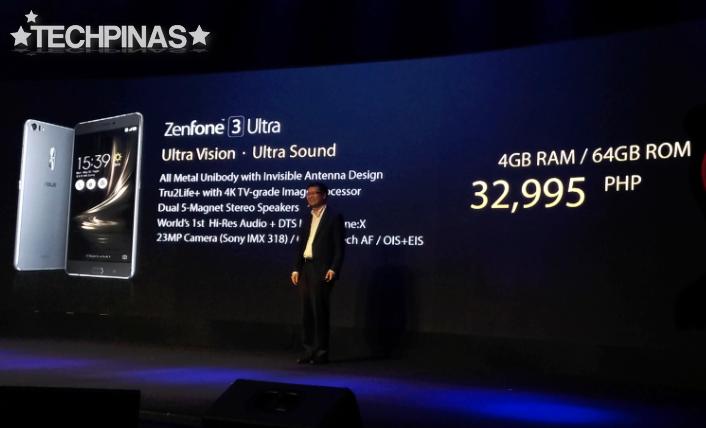 Asus ZenFone 3 Ultra Price Philippines