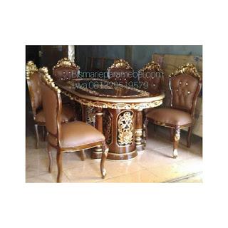 harga meja kursi makan salina ganesa gendong