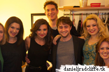 Updated: Daniel and the cast of Merrily West End