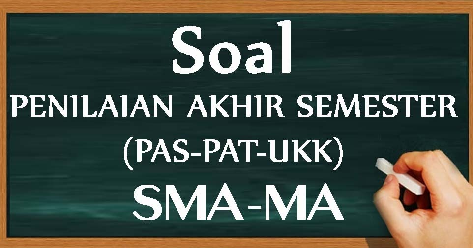 Soal UAS/PAS PKN Kelas 10 11 12 Semester 1 Kurikulum 2013 ...