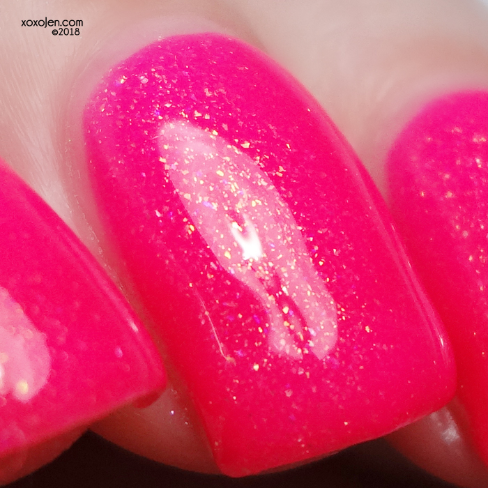 xoxoJen's swatch of Poetry Cowgirl Nail Polish Thanks For the Mammories