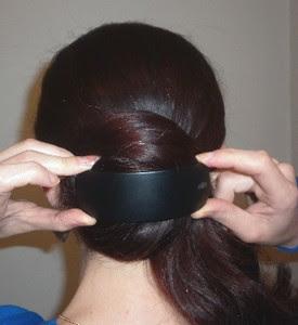 1001 coiffures: Chignon facile avec pince pour cheveux longs et très longs