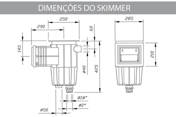 Skimmer Boca Pequena