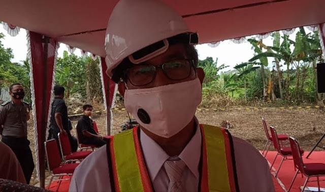 Kepala BPU Unsoed Prof.Dr. Agus Suroso