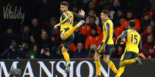 Bournemouth vs Arsenal Live Streaming online Today 14-1-2018 Premier League