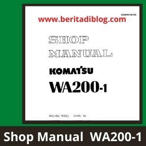 Shop Manual Wheel loader WA200-1 komatsu