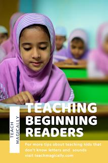 pin Teach Magically teaching beginning readers