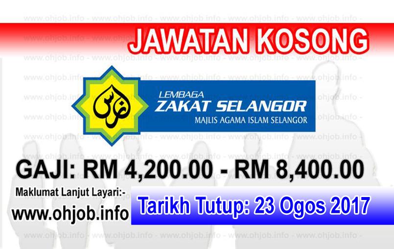 Jawatan Kerja Kosong Lembaga Zakat Selangor - MAIS logo www.ohjob.info ogos 2017