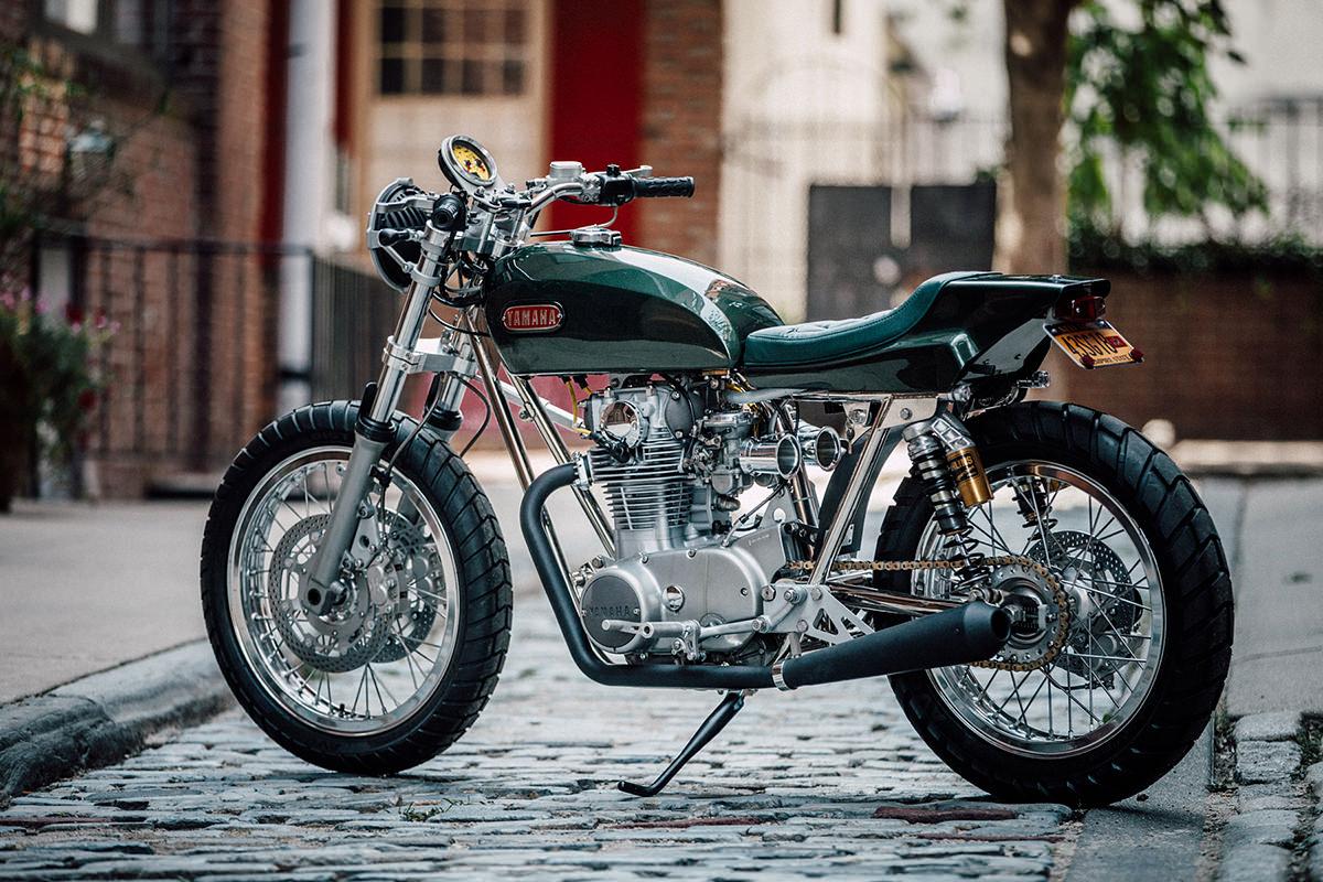 Racing Caf U00e8  Yamaha Xs 650 By Bill Becker