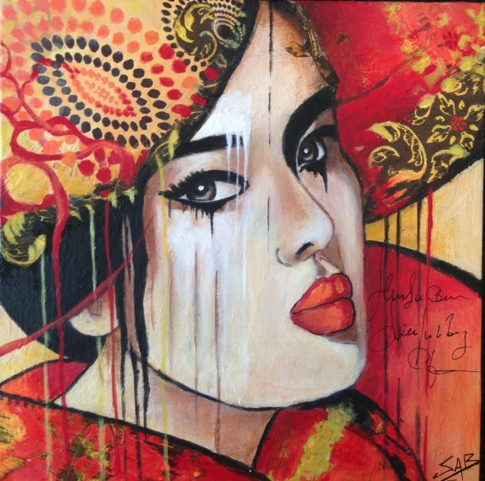 Французский художник. Sylvie Abadie-Bastide