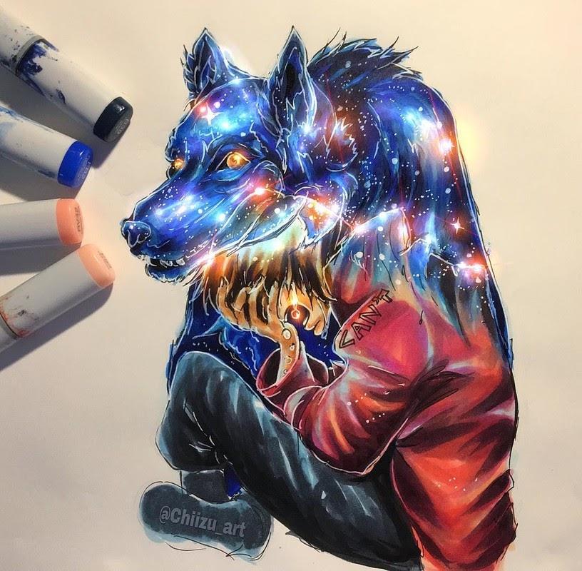 10-Secretiveness-chiizu-art-Drawing-Dark-Subjects-Bursting-with-Color-www-designstack-co