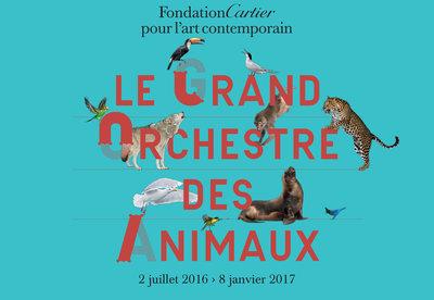 Affiche-Le Grand Orchestre des animaux
