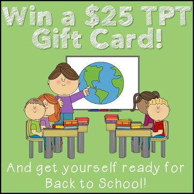 Win one of two $25 TPT Gift Cards in the iHeartLiteracy Back to School Giveaway