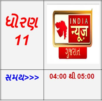 STD 11 - INDIA news Gujarati Live Karyakram