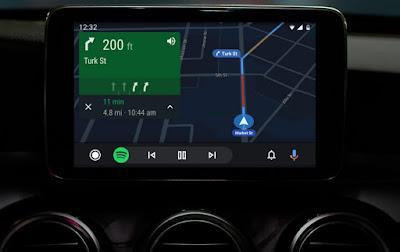 Schermata Android Auto